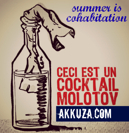 Post image for Summer is Cohabitation (the molotov beach cocktail)