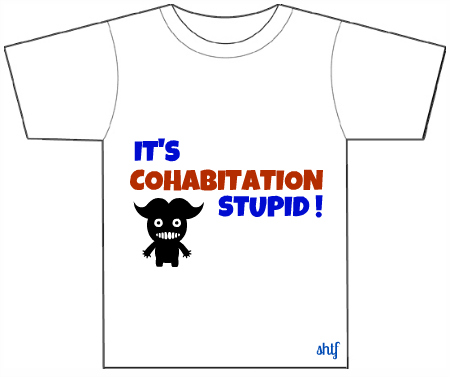 Post image for Cohabitation stupid.