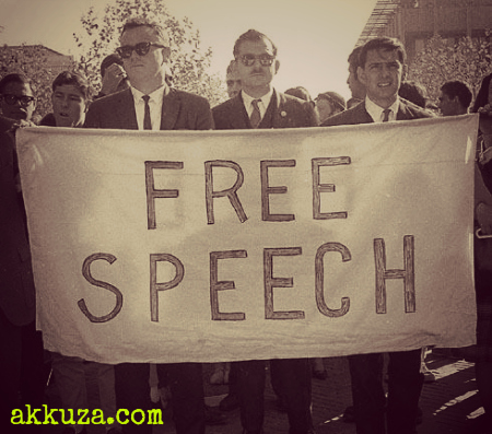Post image for Freedom of speech