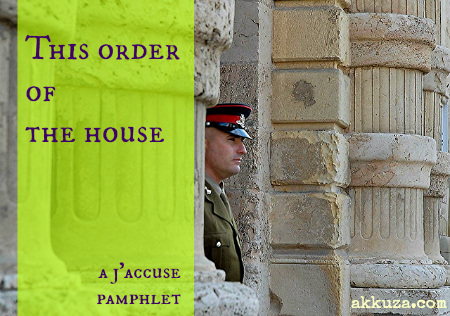Post image for This order of the house