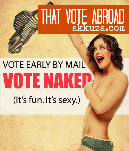 Post image for That vote abroad